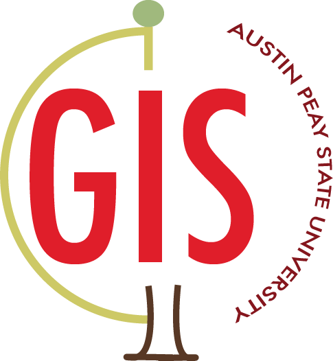 APSU GIS Center Retina Logo